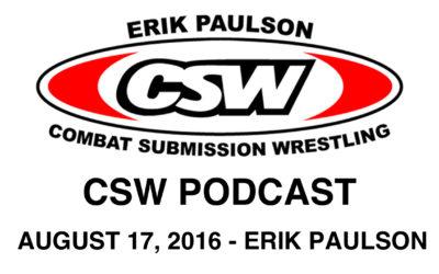 CSWP – 007 – CSW Podcast – Erik Paulson