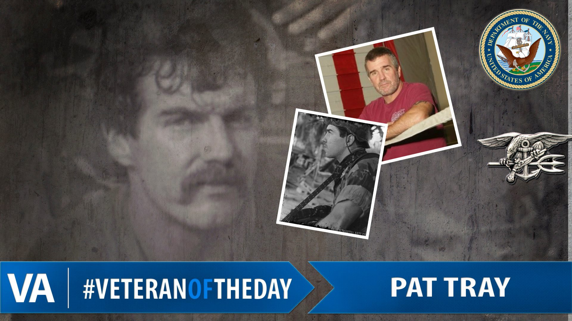 Veteran of the Day – Pat Tray