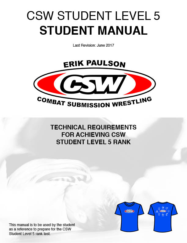 CSW Student Level 5 Technical Manual Now Available!